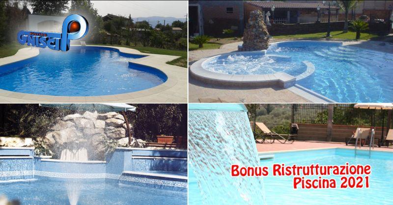 Offerta bonus ristrutturazione piscina