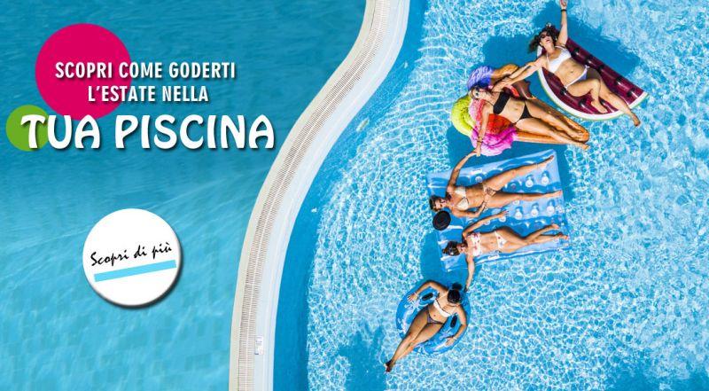 Offerta costruzione piscina a settembre - promozione piscina pronta a giugno