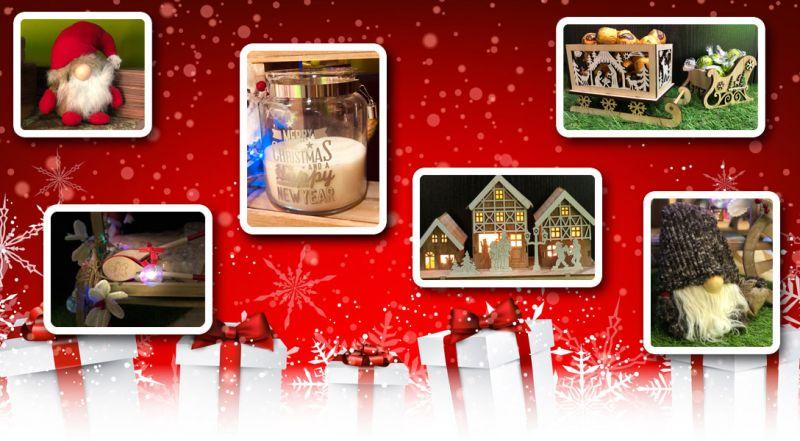 Offerta oggetti e articoli natalizi Lecce - Promozione decorazioni di Natale Lecce