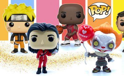 offerta personaggi funko pop la casa di carta promozione funko pop film e serie televisive
