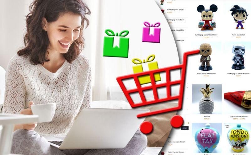 offerta accessori e idee regalo per uomo e donna matino lecce - promozione vendita online giochi funko pop matino lecce