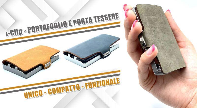 Occasione portafoglio e porta tessere i clip - offerta nuova collezione portafoglio i clip lecce