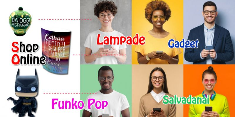Offerta shopping online idee regalo lecce - promozione gadget e idee regalo online matino lecce