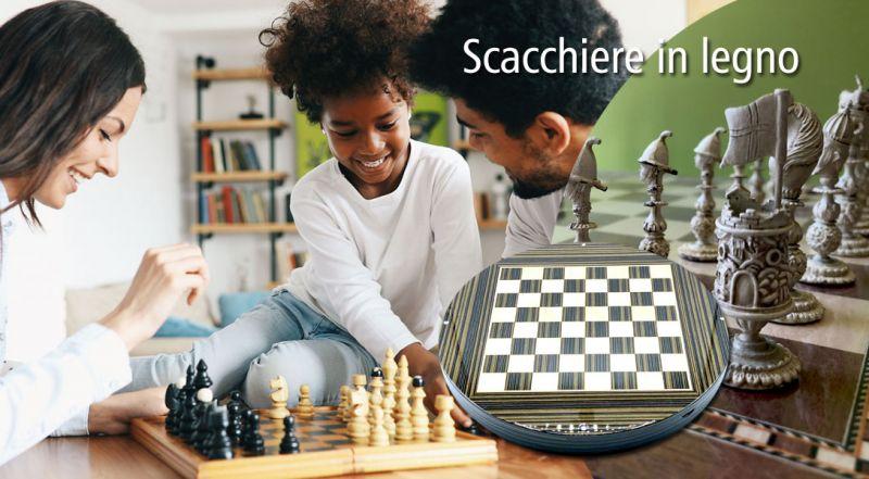 Offerta scacchiera in legno online lecce - promozione scacchiera e dama matino lecce