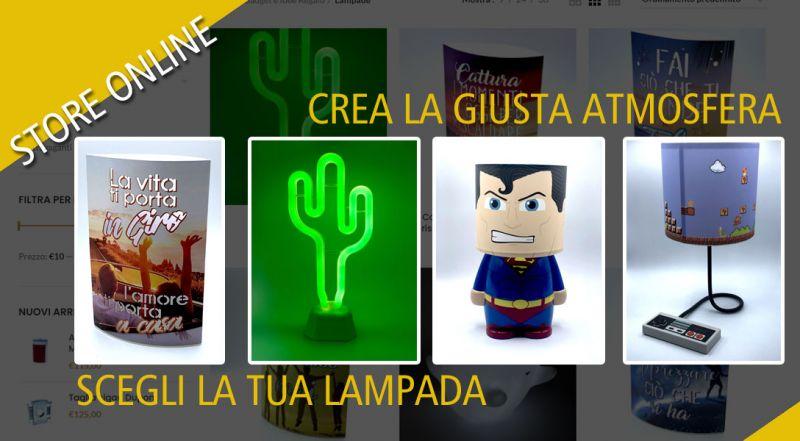 Offerta lampade a led online lecce - promozione lampade da tavolo online matino lecce