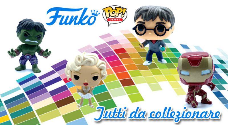 Offerta funko pop shop online lecce - promozione Funko Pop personaggi da collezionare matino lecce