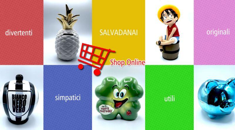 Offerta salvadanai decorativi online lecce - promozione salvadanaio e articoli da regalo matino lecce