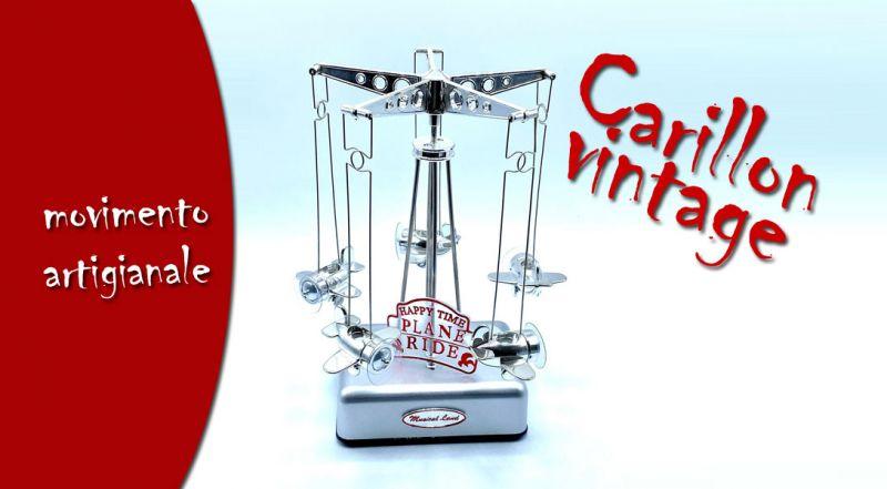 Offerta carillon vintage illuminato a LED matino lecce - promozione carillon con movimento artigianale matino lecce