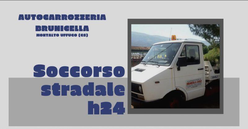 Autocarrozzeria brunicella offerta soccorso stradale cosenza - promozione auto cortesia rende