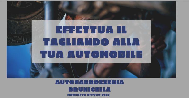 Autocarrozzeria brunicella occasione tagliando auto cosenza - promozione tagliando completo