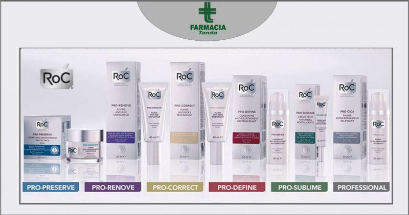FARMACIA TANDA SASSARI - offerta cosmetici Roc prodotti cura del viso antietà