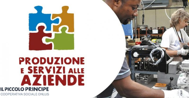 Il piccolo principe offerta lavoro persone bisognose - occasione servizi e produzione Pordenone