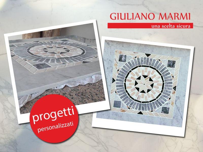offerta marmo con intarsi promozione lavorazioni artitiche marmo giuliano marmi