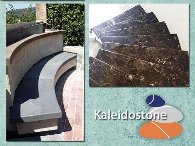 offerta scale per interni esterni promozione lavorazioni marmo granito quarzo kaleidostone