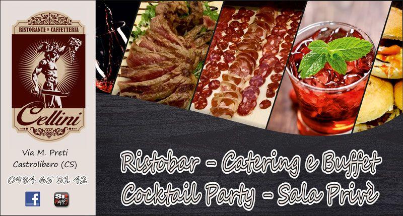offerta ristobar cocktail castrolibero - Servizio catering buffet castrolibero