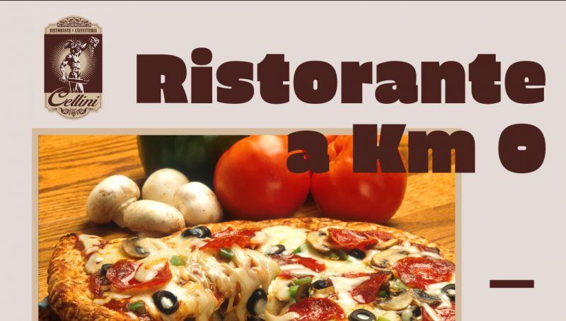Ristorante cellini offerta cucina km 0 cosenza - promozione pizza al taglio cosenza