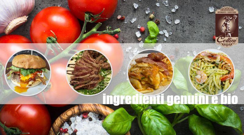 RISTORANTE CELLINI - OFFERTA cucina cosentina ingredienti stagione COSENZA - PROMOZIONE cucina con ingredienti bio COSENZA