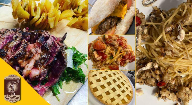 RISTORANTE CELLINI - OFFERTA mangiare tipica cucina cosentina COSENZA - PROMOZIONE ristorante menu carne e pesce COSENZA