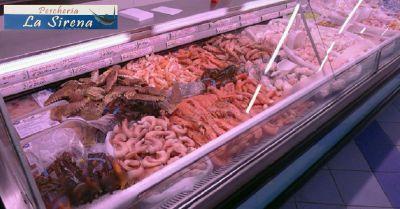 offerta pescheria vendita pesce fresco e surgelato viareggio pescheria la sirena