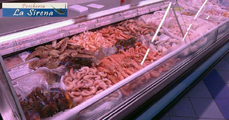 offerta pescheria vendita pesce fresco e surgelato Viareggio - PESCHERIA LA SIRENA
