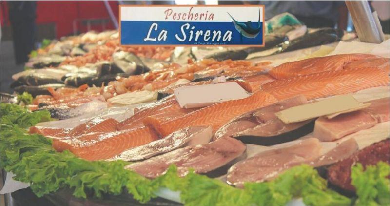 offerta pesce fresco e surgelato scontato Versilia - PESCHERIE LA SIRENA Versilia
