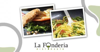 offerta ristorante wine bar la fonderia promozione cucina tipica stagionale in centro