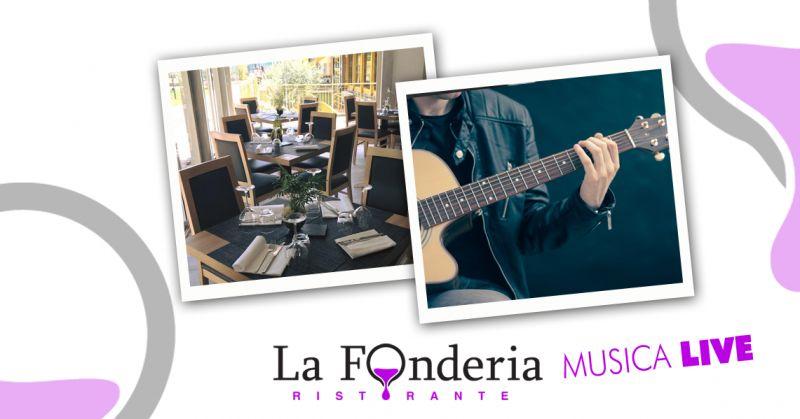 offerta ristorante musica live clt - promozione locale musica dal vivo la fonderia clt