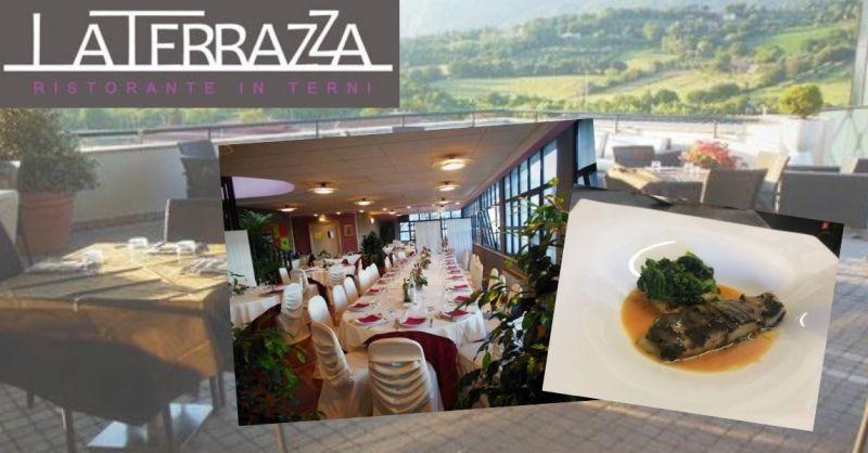 La terrazza offerta mese dicembre cene di lavoro ristorante - occasione menù invernale terni
