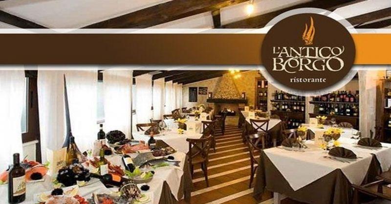 L'Antico Borgo offerta chiusura rinnovo locale - occasione ristorante specialità pesce Terni
