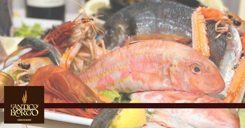 Ristorante L'Antico Borgo offerta riapertura locale - occasione specialità di pesce Terni