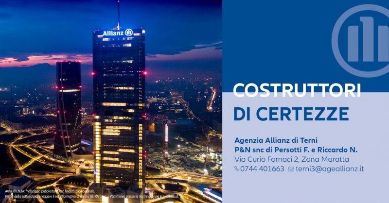 Offerta Trova la migliore agenzia assicurativa Terni - Occasione assicurazione Allianz a Terni