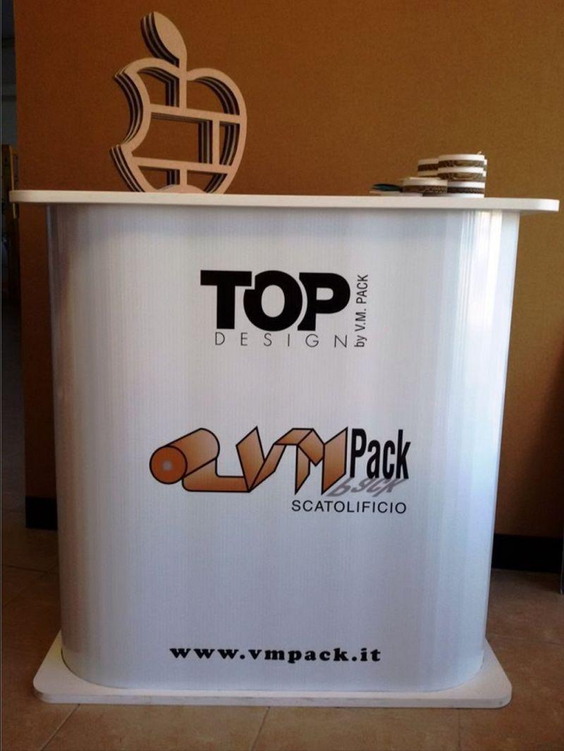 V.M. PACK offerta desk per eventi - promozione stand pubblicitari