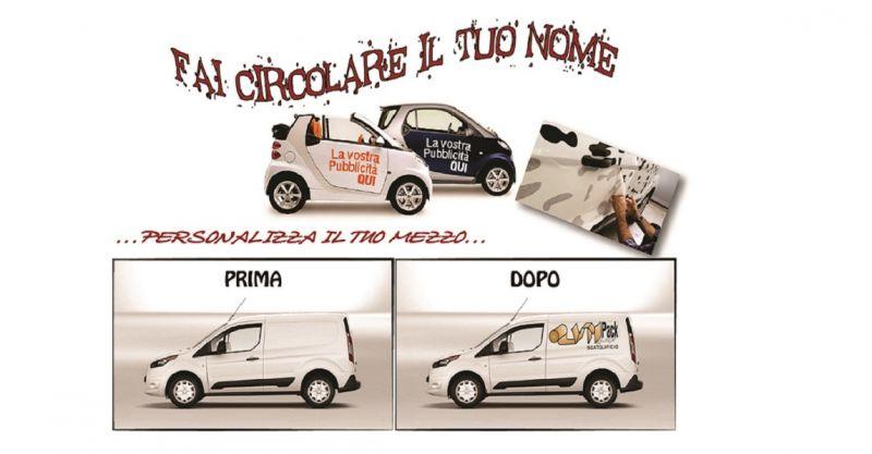 offerta allestimenti per auto e furgoni Siena - promozione arredamento pubblicità