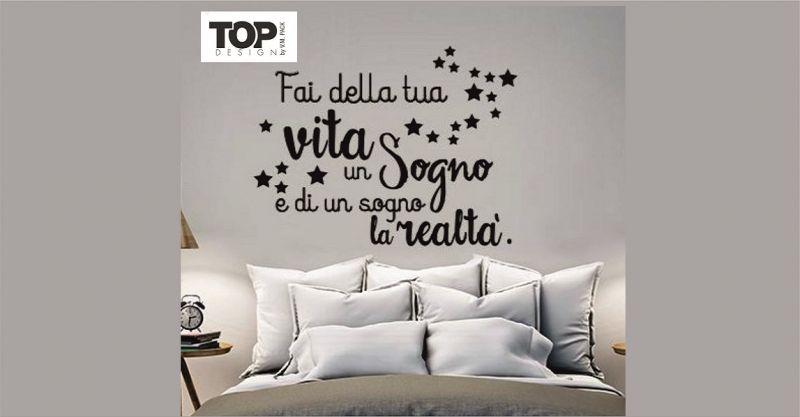 offerta vendita adesivi murali personalizzati per arredo - offerta idee di design casa Siena