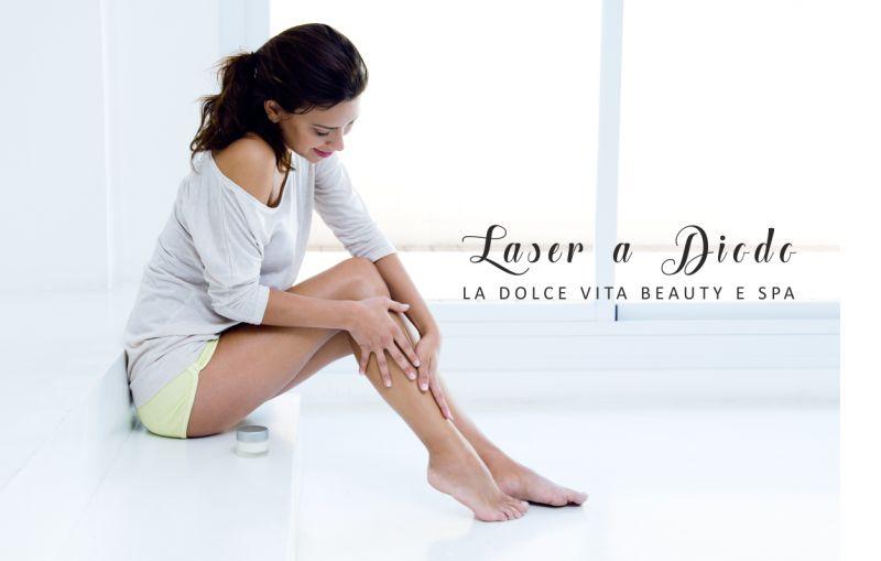 LA DOLCE VITA BEAUTY E SPA offerta epilazione laser - promozione laser a diodo