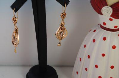 orecchini in oro vintage a pordenone in via oberdan 1 a