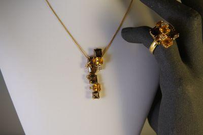 collana e anello salvini in oro e diamanti a pordenone via oberdan 1 a