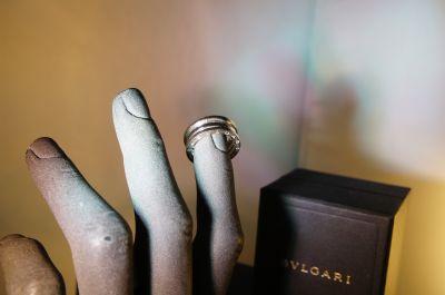 anello bvlgari b zero oro bianco a pordenone via oberdan 1 a