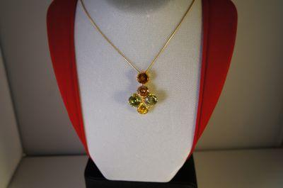 collana oro giallo 750