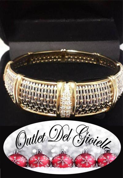 offerta bracciale cartier oro e acciaio con diamanti promozione bracciale gioelli cartier pn