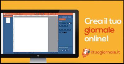 iltuogiornale it offerta creare prima pagina giornale promozione creazione online giornale