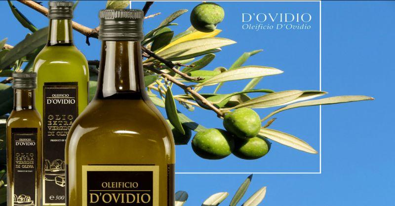Offre production et vente en ligne huile d'olive vierge extra fabriquée en Italie Abruzzes