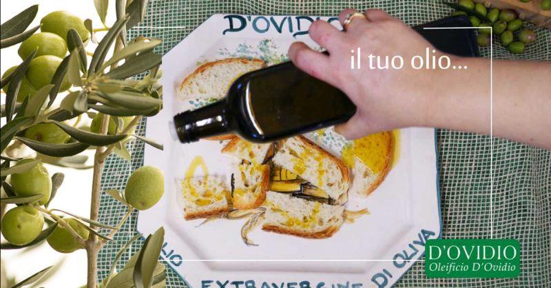 Offerta Vendita Olio EXTRA VERGINE Abruzzese - Occasione Extravergine d'oliva qualità Italiana