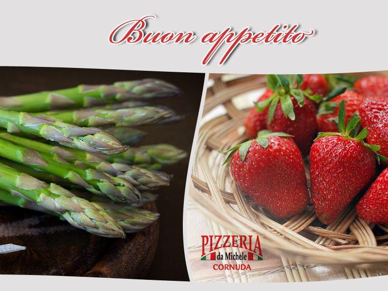 promozione cibo di stagione cornuda offerta fragole cornuda pizzeria da michele