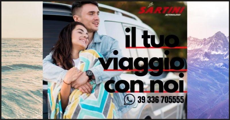 Sartini Autonoleggi - promozione servizio noleggio auto e pulmini per vacanze