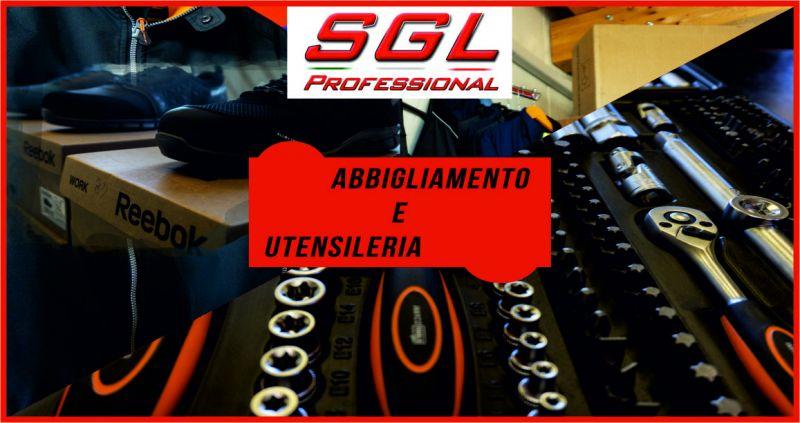 sgl professional offerta vendita abbigliamento lavoro - occasione vendita utensileria