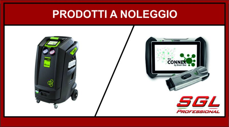sgl professional offerta prodotti a noleggio - occasione noleggio stazione clima air nex