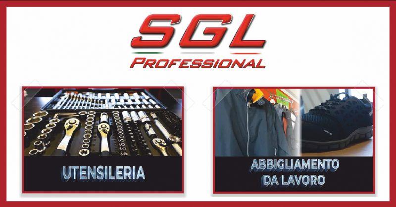 sgl professional offerta utensili da lavoro - occasione abbigliamento da lavoro