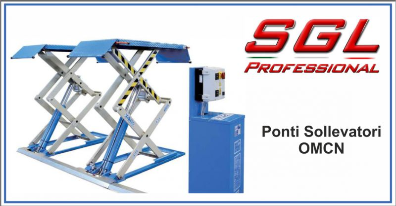 sgl professional offerta vendita ponte sollevatore omcn - occasione assistenza ponte sollevatore