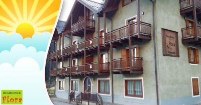 residence flora occasione appartamenti montagna offerta mansarde per vacanze estive